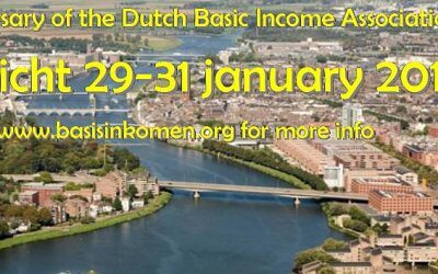 Celebration of the 25th anniversary of the Dutch Basic Income Association – 29-31 jan 2016
